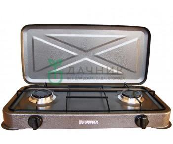 Газовая плита с крышкой Grunhelm GGP-6012